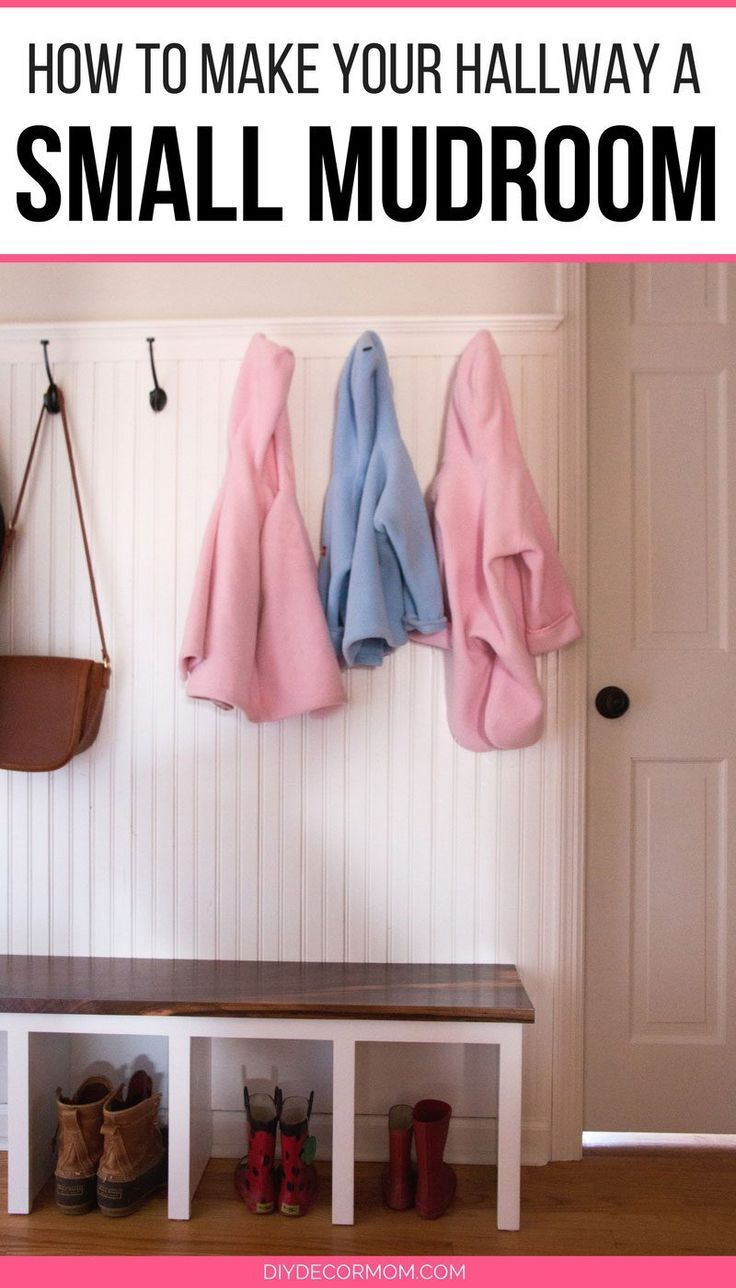 hallway finally. Finally! Small Mudroom Ideas For My Narrow Hallway Entrance! Love This Makeover With A Simple Bench, DIY Coat Tree And, Shoe Cubbies, Finally