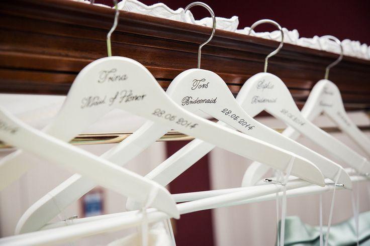 Fennes Essex Wedding Bespoke Hangers