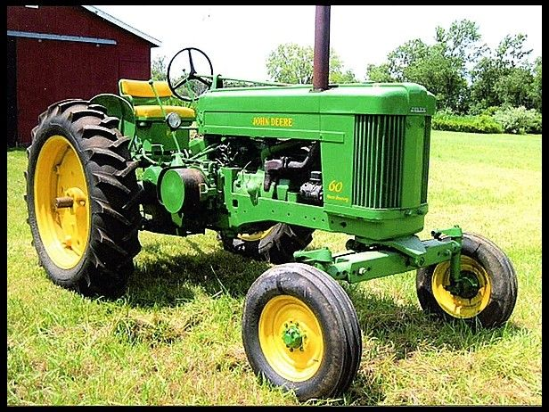 John Deere 60 Engine : John deere wide front this is what i drove at home