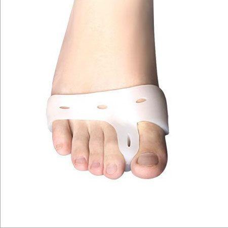 Cerę Silikonowe Skarpetki Toe Separator, Pielęgnacja stóp żel Bolący Guz pads Foot Pain Relief Palucha Koślawego Pro Korekcji Narzędzia Do Pielęgnacji skóry