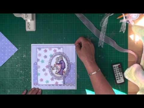 ▶ Cardmaking- Matting and Layering (card-making-magic.com) - YouTube