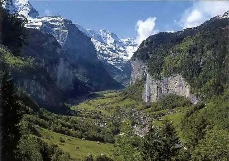 Gimmelwald - Cute town in Swiss Alps recommended by Rick Steves