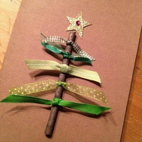 Manualidades navideñas: Tarjetas para felicitar la Navidad                                                                                                                                                                                 Más