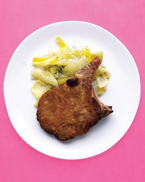 Breaded Pork Chops - Martha Stewart Recipes