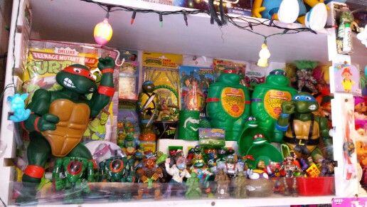 Tienda juguetes vintage. En Harajuku.