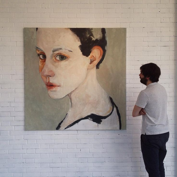 """Clara"", 2015 #conradroset + #guimtio  150x150cm Oil on canvas"