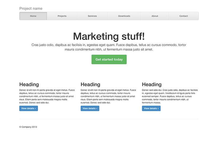 Introdução ao Bootstrap -:- Nav Justified - Criar uma barra de navegação personalizada com links justificados. Heads up! -:- Não muito amigável no Safari.
