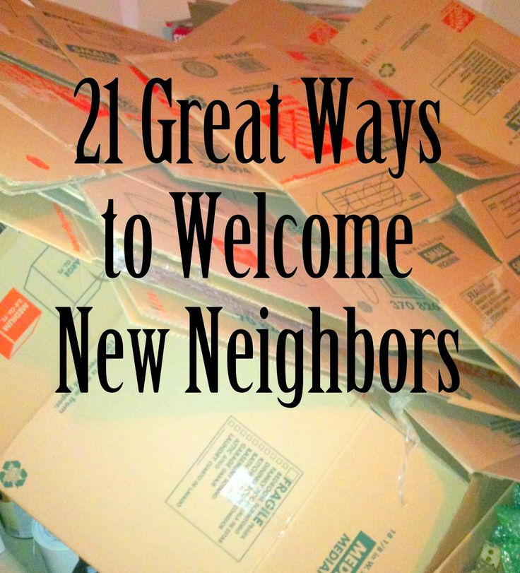 Mom Explores Michigan: Moving Week: 21 Great Ways to Welcome New Neighbors