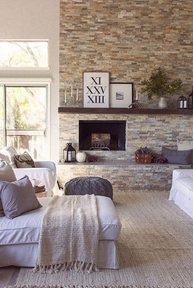 M s de 25 ideas incre bles sobre paredes de piedra en - Piedra paredes interior ...