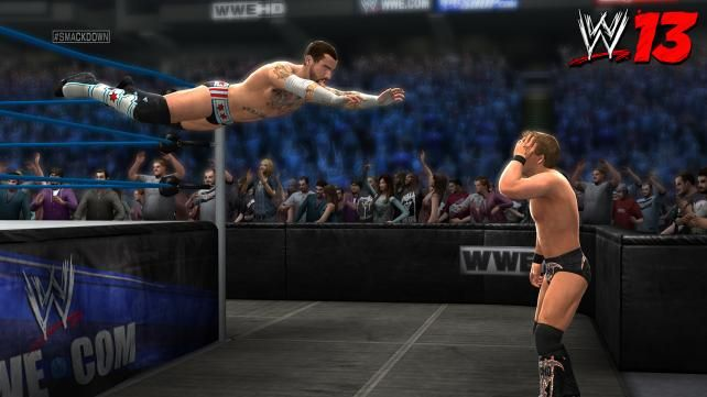 WWE '13 Game Screenshots
