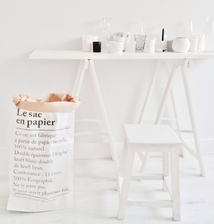 Le sac en papier from be-pôles - made from recycled paper