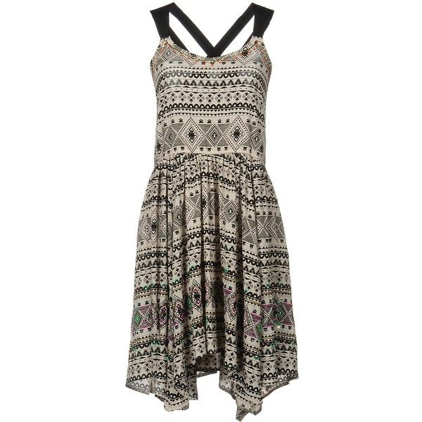 Pepe Jeans Short Dress ($110) ❤ liked on Polyvore featuring dresses, ivory, brown sequin dress, sequin embellished dress, winter white dress, sequin cocktail dresses and ivory cocktail dress