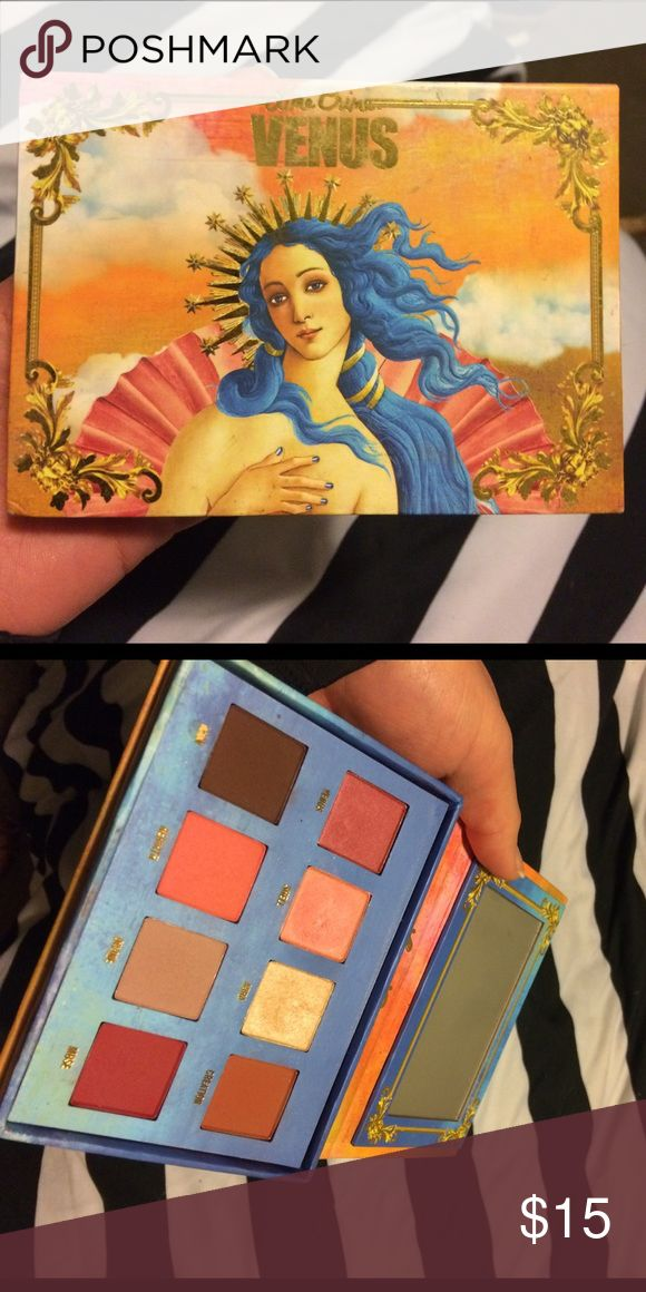 Lime crime Venus 1 Used once. Still in perfect condition. Authentic. Makeup Eyeshadow