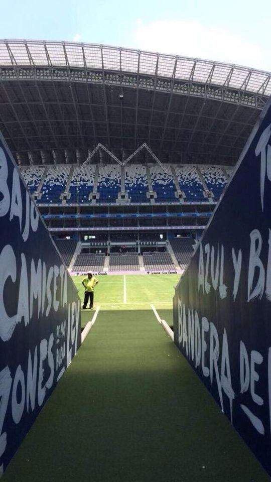 El Estadio BBVA Bancomer es un estadio de fútbol que se encuentra en el municipio de Guadalupe, Nuevo León, México, que forma parte de la Zona Metropolitana de Monterrey, y es sede del Club de Fútbol Monterrey de la Primera División de México.