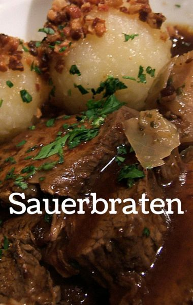 Michael Symon showed Chew viewers how to make Sauerbraten, a traditional German Pot Roast, in less than half the time it usually takes.  Read More by foodushare