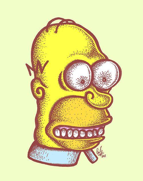 独創性に富んだホーマー(シンプソンズ)のイラスト投稿サイト『Draw Homer!』 - K'conf