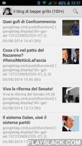 Rassegna Stampa News Giornali  Android App - playslack.com ,  Rassegna stampa news giornali è un'applicazione gratuita per leggere la rassegna stampa delle principali notizie di Cronaca, Sport Economia dei più famosi quotidiani nazionali e dell' Agenzia delle Entrate e la sua rivista Fisco Oggi. E' stato inserito anche le news del blog di Beppe Grillo, attraverso i feed rssLe icone utilizzate nell'applet hanno il solo scopo di abbellimento e di facile individuazione dei quotidiani ma sono di…