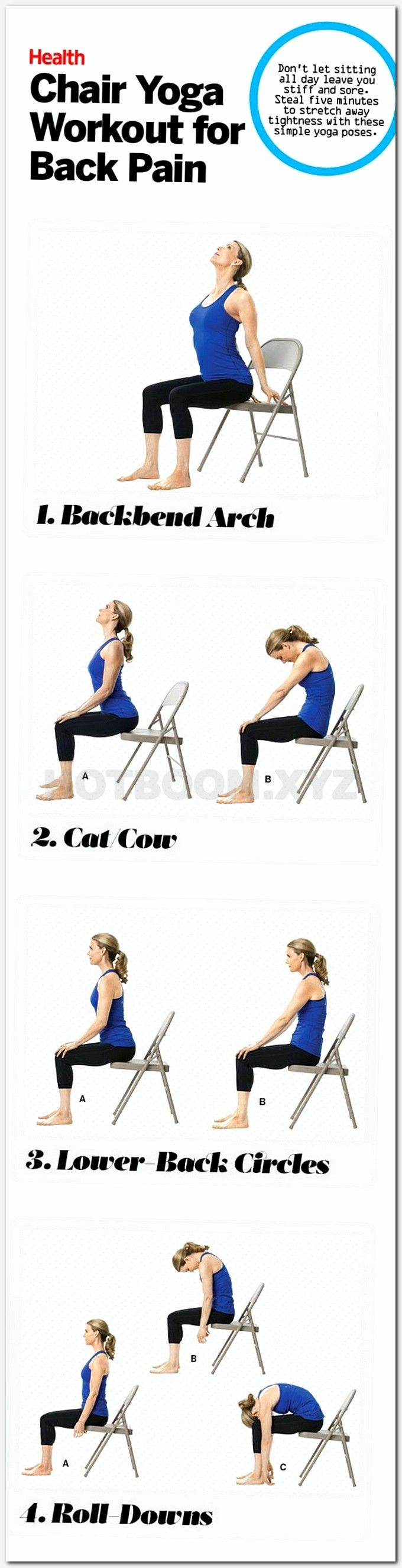 25+ best ideas about Chair yoga on Pinterest | Chair ...