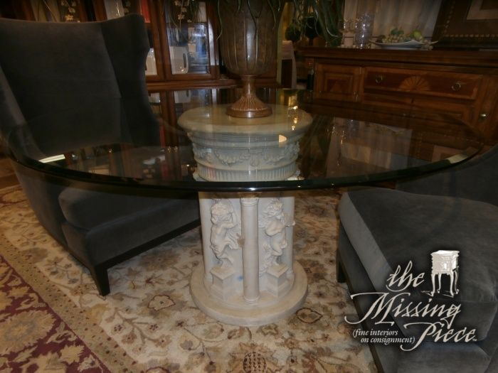 Best 25 Glass Top Dining Table Ideas On Pinterest Glass