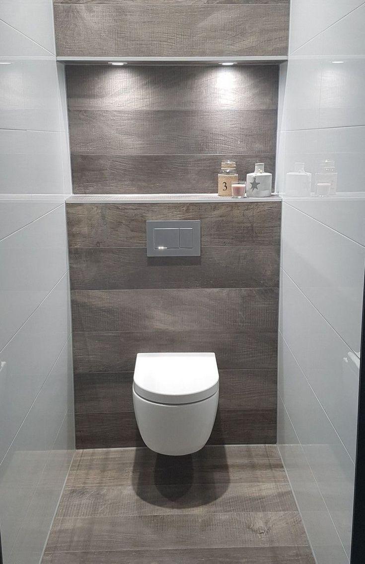 Vertraumte Wc Toilette In Badezimmer Ideen Fur Sie Waaaw 41 2019 Vertraumte Wc Toilette In Badezim Toilet Design Small Toilet Design Bathroom Interior Design