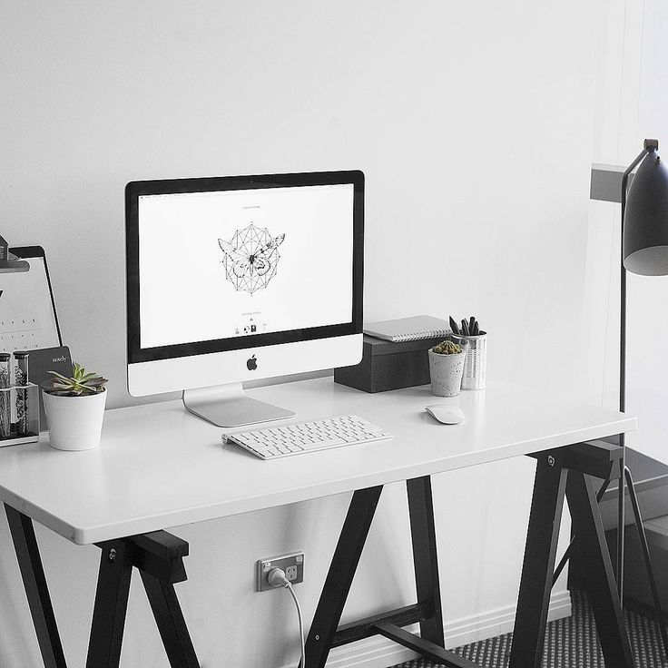 find this pin and more on home - White Desk