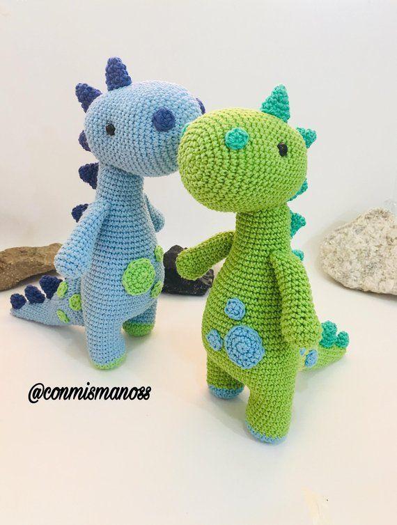 Dinossauro Amigurumi | 754x570