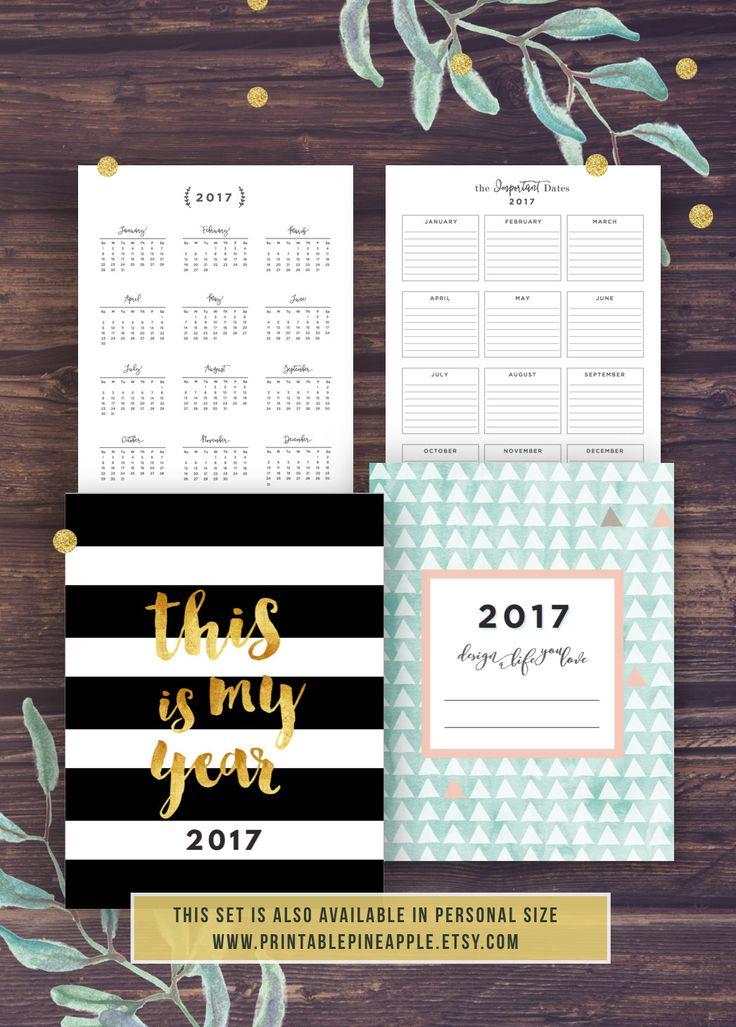 Afdrukbare planner Agenda 2017 2017-Planner worden