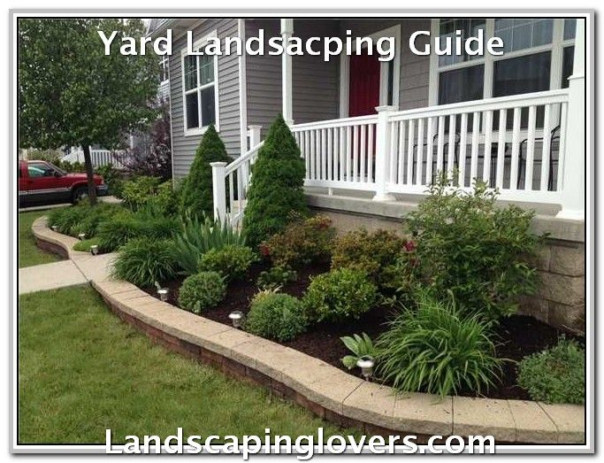Guide To Help Landscape Your Garden Landscaping Lovers Front Yard Landscaping Front Yard Landscaping Design Yard Landscaping
