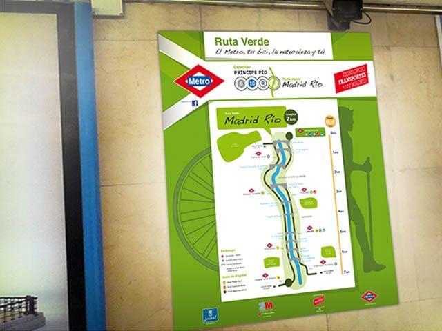 """http://estudiodarma.com.ar/trabajos.php?categoria=animacion&id=35  Metro Madrid (España) - Spot Institucional  Desarrollamos para la campaña """"Ruta Verde - El metro, tu bici, la naturaleza y tú"""" un spot institucional para """"Metro - Madrid"""", destinado al mercado Español. Basados en el material de diseño provisto por el cliente, realizamos la animación integral y postproducción.  Postproducción y Motion Graphics."""