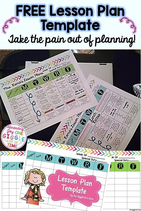Best 25+ Weekly lesson plan template ideas on Pinterest Teacher - sample elementary lesson plan template