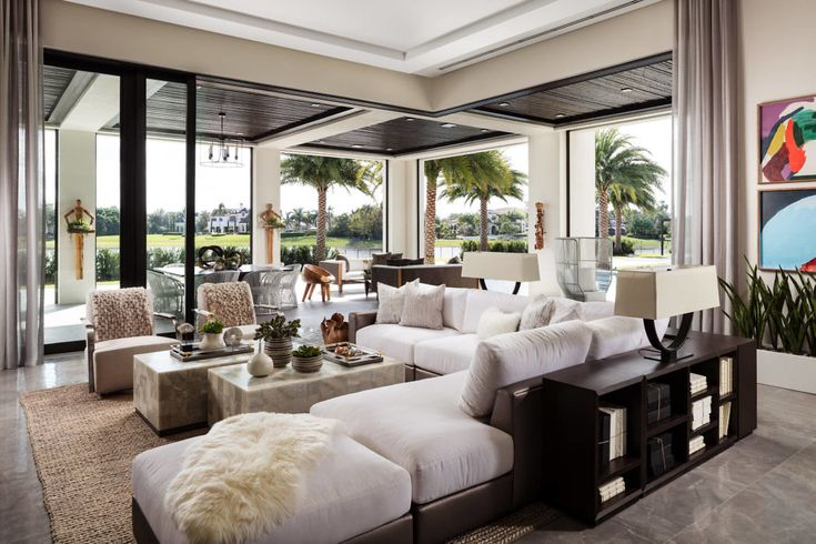 Delray Beach Home By Lesly Maxwell Interiors Homeadore Home Interior Living Room Design Layout