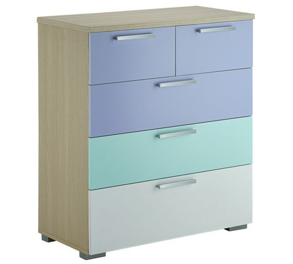 Buy Billie 3 + 2 Drawer Chest - Lilac at Argos.co.uk - Your Online Shop for Children's chests of drawers, Children's furniture, Home and garden.