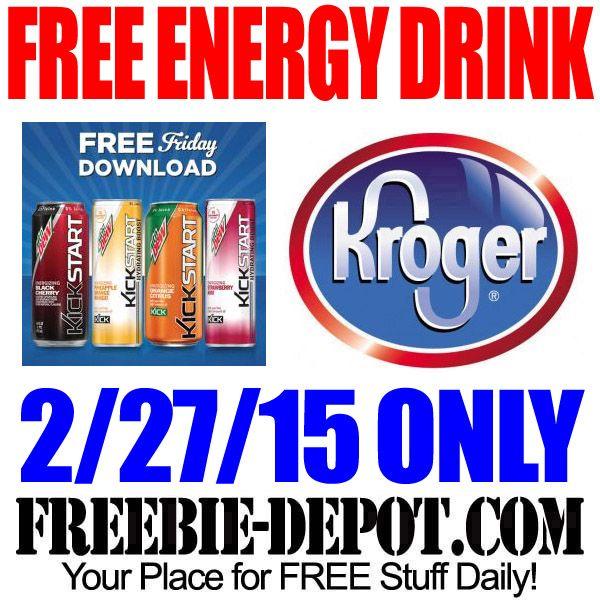 FREE Mountain Dew Kickstart Energy Drink from Kroger