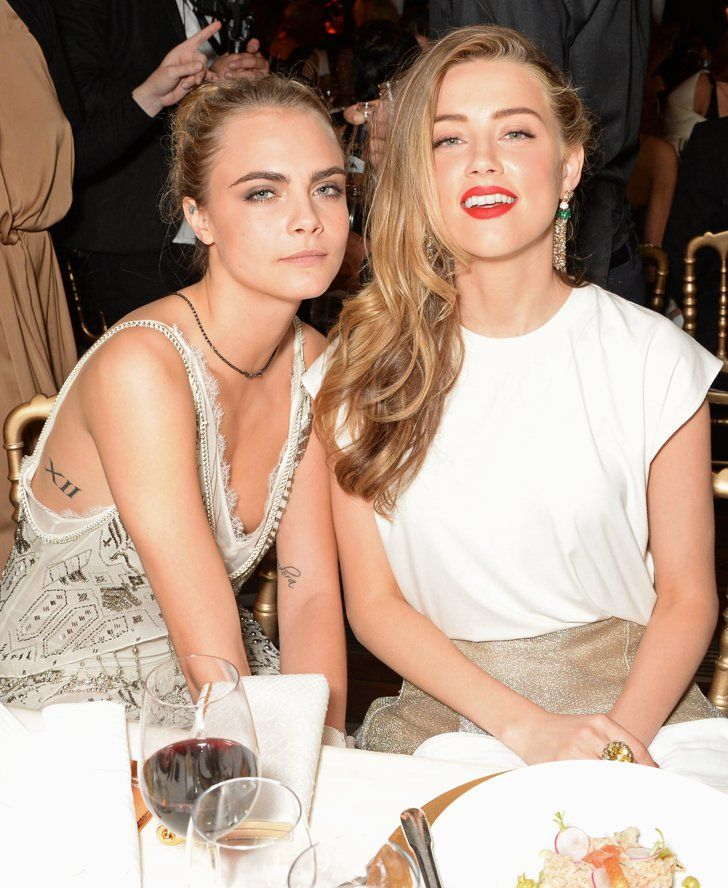 Pin for Later: All the Stars That Flocked to France For the Cannes Film Festival  Cara Delevingne and Amber Heard were a standout duo at the Fatale in Cannes party.
