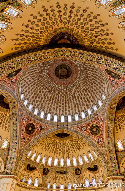 A favorite place during our trip. So beautiful and we took dozens of photos inside & out, just amazing. #LiSaeed <3 Kocatepe Mosque .Ankara:Turkey