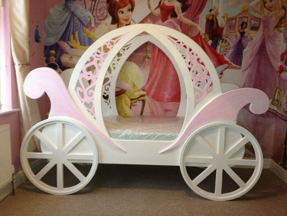 Princess Carriage Bed by TheKidsBedShop on Etsy, £750.00