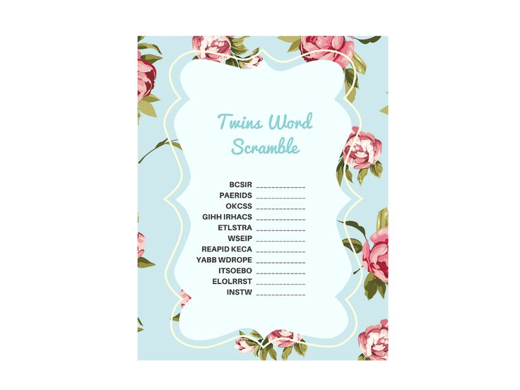baby shower twins printables on pinterest twin twin baby showers