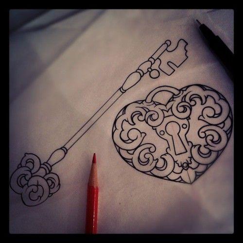 25 Heart Locket Tattoo Designs Ideas: 25+ Beautiful Heart Locket Tattoos Ideas On Pinterest