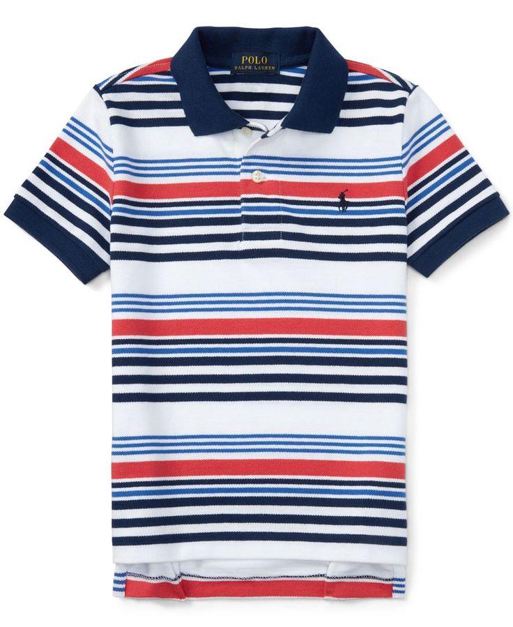 Ralph Lauren Little Boys' Striped Polo Shirt