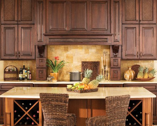 Caribbean style homes design pictures remodel decor and for Caribbean kitchen design ideas