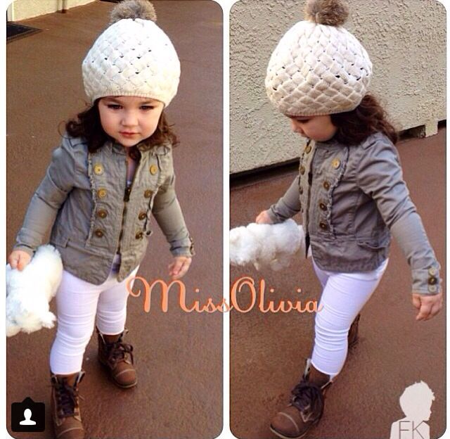 067750b7 Winter outfit for a little girl | Little girls fashion how I would ...