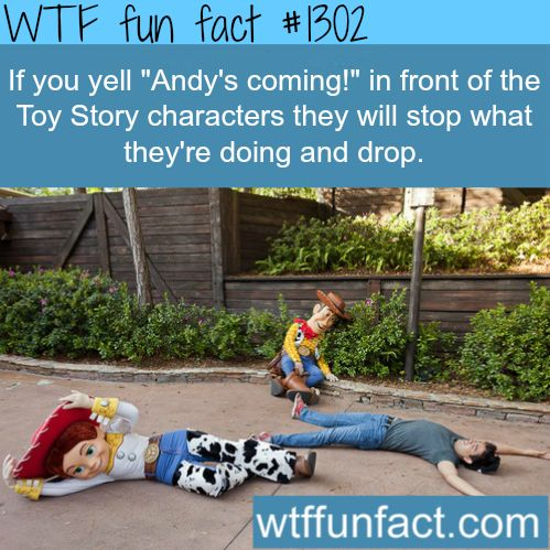 Disney land bucket list - Toy story characters MORE OF WTF FACTS are coming HERE disney, movie and fun facts