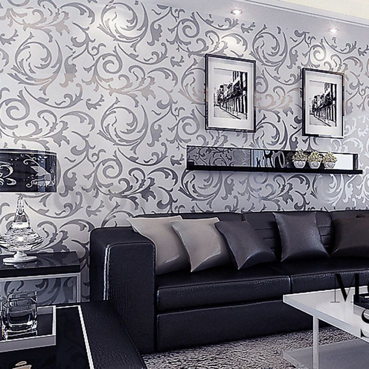 Bedroom Decor Country Master Bedroom Decorating Ideas Dark Furniture Glitter Wallpaper Bedroom Silver Accent Wall Bedroom: 25+ Best Damask Living Rooms Ideas On Pinterest