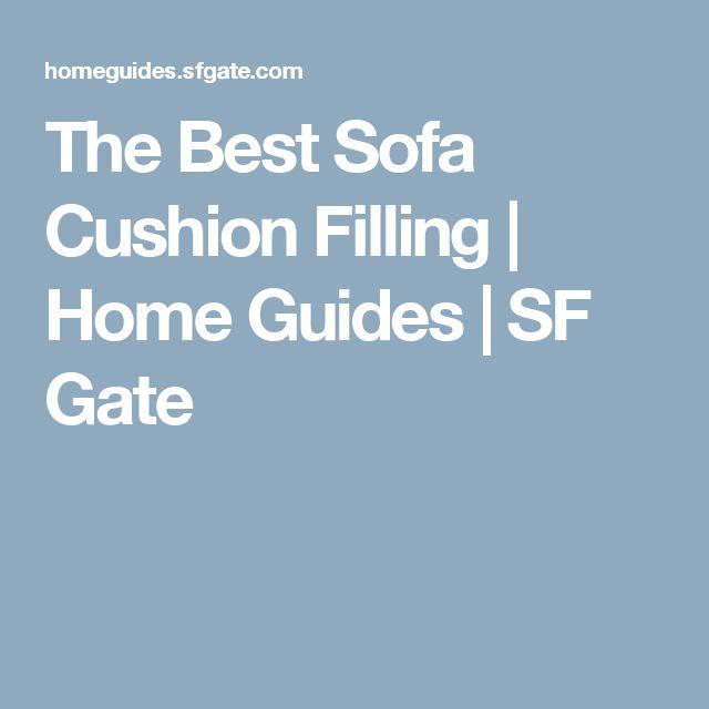 Best 25 Cushion Filling Ideas On Pinterest