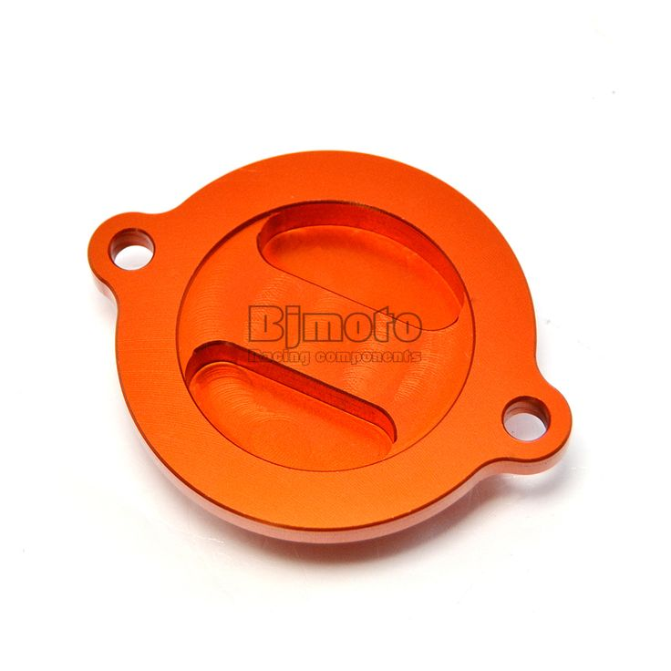 BJMOTO Orange CNC Engine Oil Filter Cover Cap For KTM 125 200 390 Duke RC 125 200 390 #Affiliate