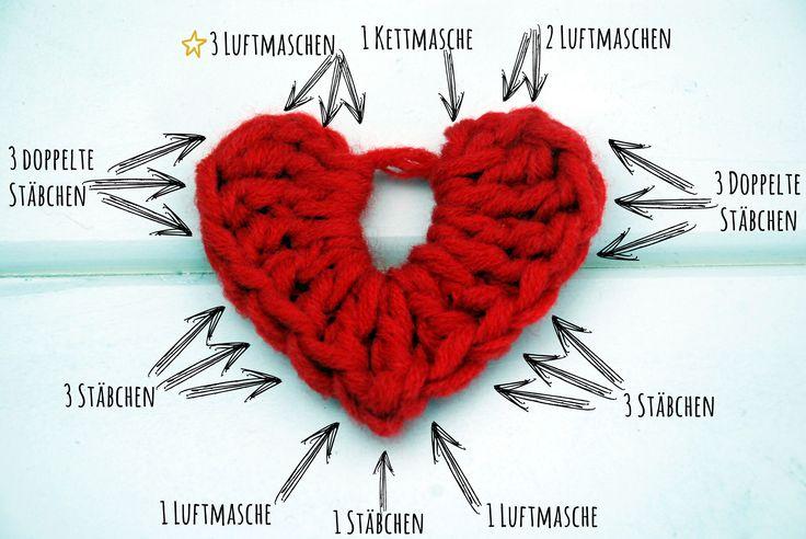 Häkel-Herz