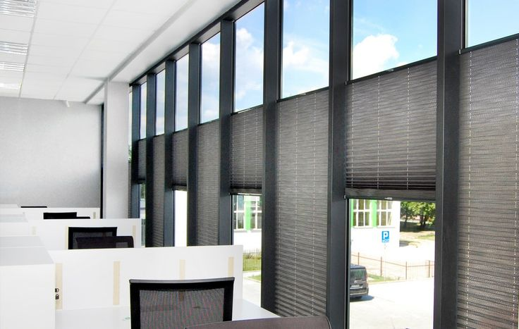 Plisy okienne / Żaluzje plisowane / Rolety harmonijkowe / Pliski na okno