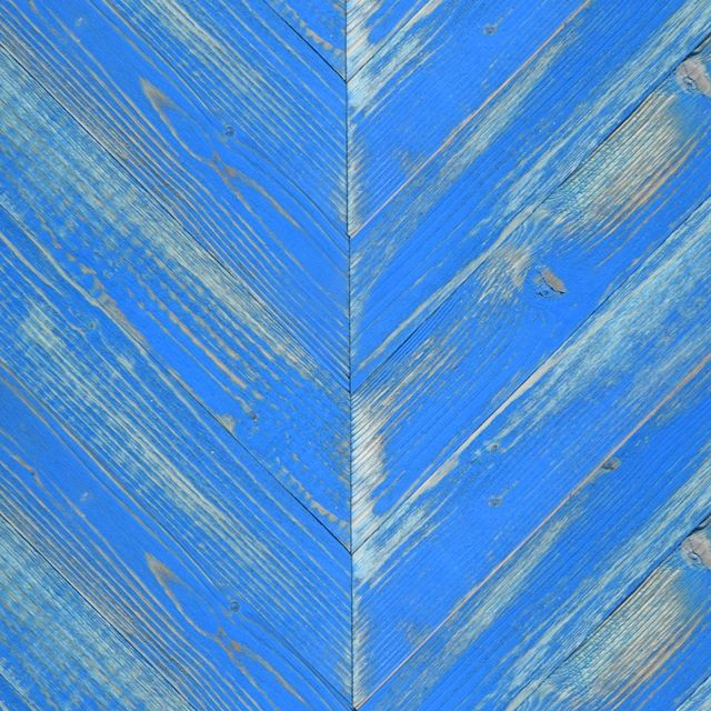 These Cobalt Blue Painted Chevron pine barn sidings are colour washed with paint giving the resemblance of faded façades. Endless combinations of the colours below are available.