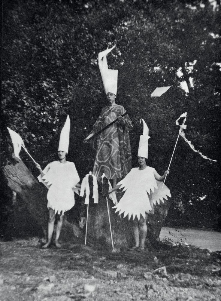Strange habits: Britain's oddest youth movement – in pictures. The Slaying of Summer seasonal ceremony, Gleemote, c 1929