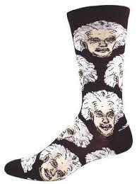 cute easter basket ideas boyfriend Socksmith Men's Einstein Crew Socks